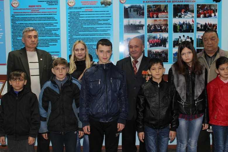Ахтубинские ребята побывали в Автошколе ДОСААФ
