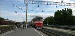 Из Астрахани в Адлер пустили поезд