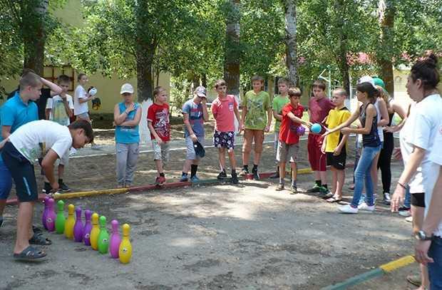 Ахтубинцы отдыхают в детских лагерях Астраханской области