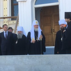 Начался визит в Астраханскую область Патриарха Московского и всея Руси Кирилла