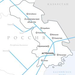 В этом году Газпром начнет строить в Астраханской области 12 межпоселковых газопроводов