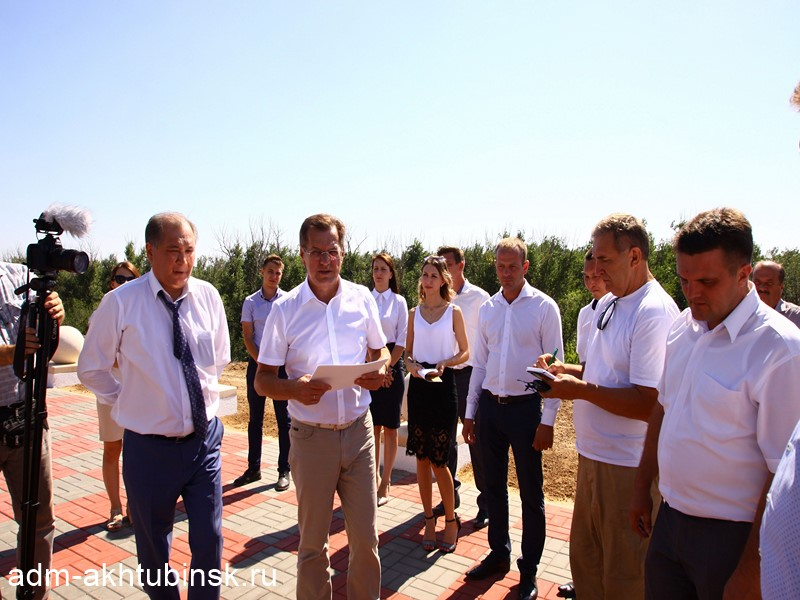 А.А. Жилкин отметил руководство города Ахтубинска за умение решать задачи