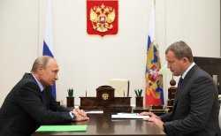Александр Жилкин покидает пост губернатора Астраханской области
